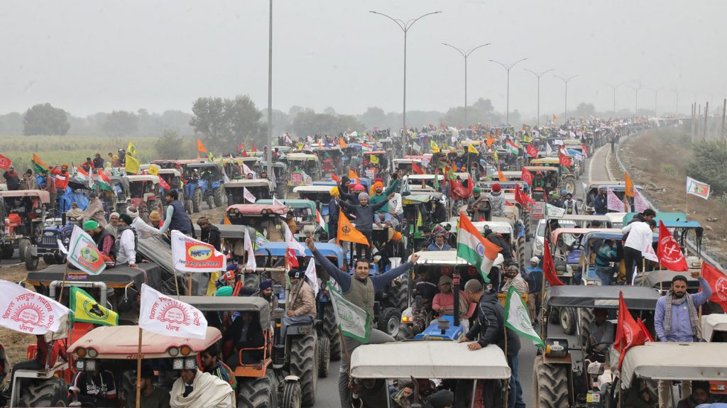 Révolte paysanne indienne. Le Modef apporte son soutien